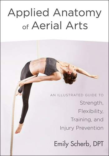 Applied Anatomy of Aerial Arts Book Cover